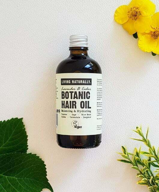Zeliščno olje za lase 100ml