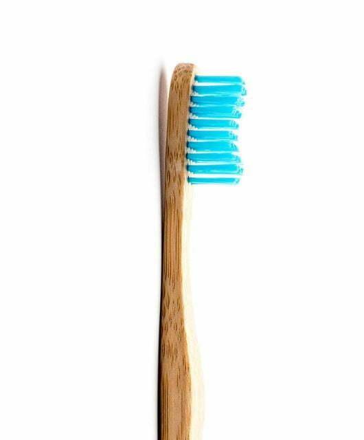 Odrasla bambus zobna ščetka modra – Soft