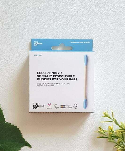 Vatirane palčke za ušesa – bambus in bombaž 100 kos