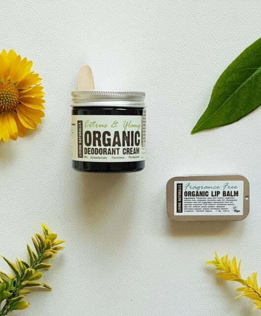 Ekološki dezodorant Citrus & Ylang in ekološki balzam za ustnice